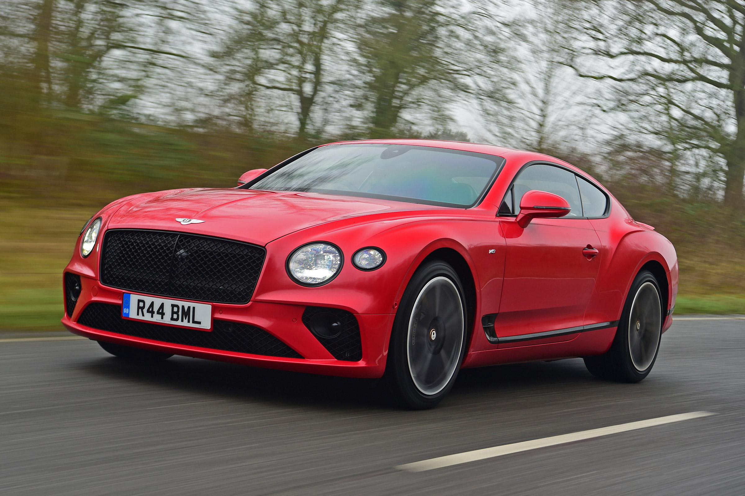New Bentley Continental Gt V8 2020 Review Auto Express