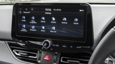 New Hyundai i30 touchscreen