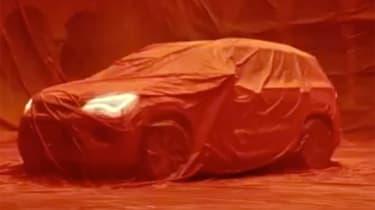 SEAT Tarraco SUV teaser lights