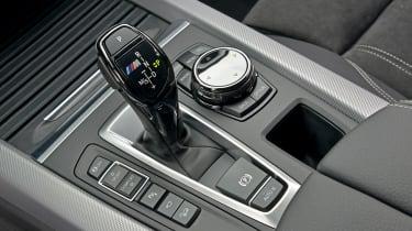 BMW X5 M50d Gearstick
