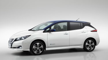 New Nissan Leaf - front/side