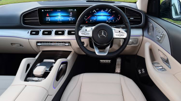 Mercedes GLS - dash
