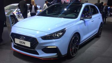 New Hyundai i30 N - front
