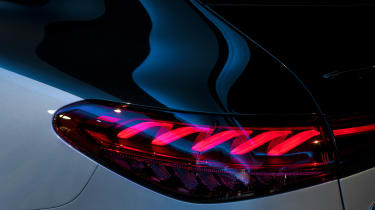 Mercedes EQS - rear light