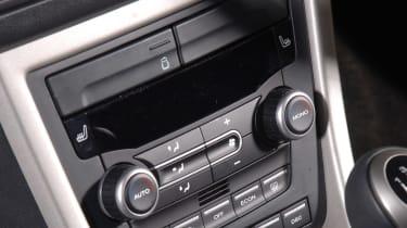 MG Motors MG6 saloon interior detail