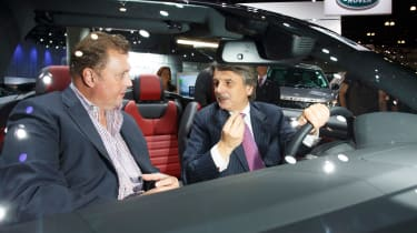 Jaguar Land Rover - LA Motor Show