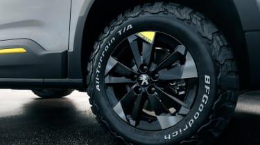 Peugeot Rifter 4x4 Concept - wheel