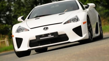The LFA will accelerate to 62mph in 3.7 seconds and ill go on to a top speed of 202mph.