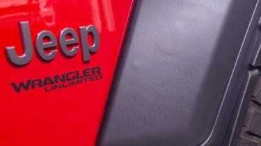 Jeep Wrangler 1941 - Jeep badge