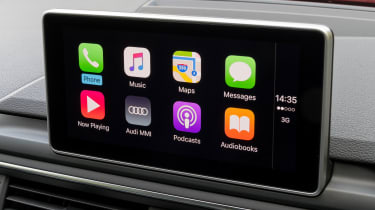 Audi A4 S Line - Apple CarPlay