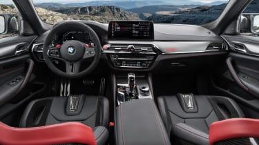BMW M5 CS - cabin