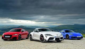 Toyota Supra vs Porsche Cayman vs Audi TT RS
