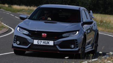 Honda Civic Type R - front cornering