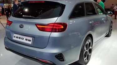 New Kia Ceed sportswagon rear