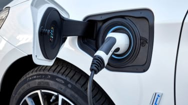 BMW 2 Series Active Tourer 225xe plugged in