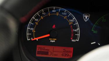 Tesla Roadster dials