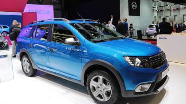 Dacia Logan MCV Stepway Geneva - front