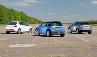 MINI Cooper SD vs rivals