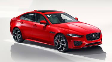 Jaguar XE - studio front static