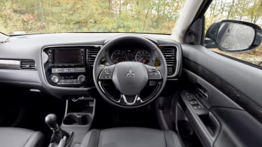 Used Mitsubishi Outlander - dash