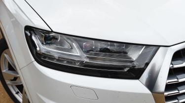 Audi SQ7 long-term final report - front light