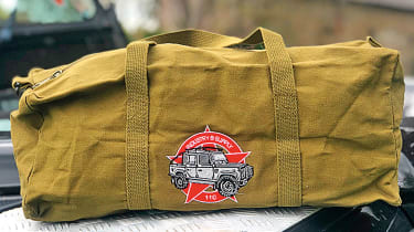 Industry & Supply Co Army Surplus Land Rover tool bag