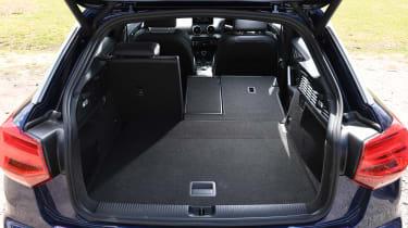 Audi Q2 35 TFSI long-termer - boot