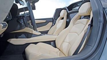 Lamborghini Aventador Roadster front seats