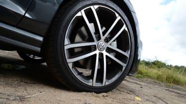 Volkswagen Golf GTD wheel
