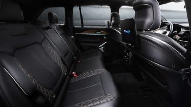 Jeep Grand Cherokee 4xe - rear seats