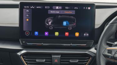2021 Cupra Formentor infotainment screen