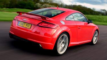 Audi TT RS - rear