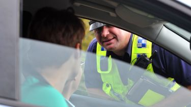 Driver with second highest points doesn't have licence