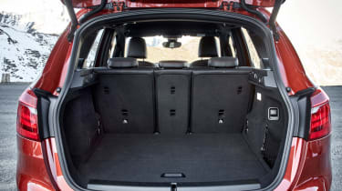 BMW 2 Series Active Tourer boot space