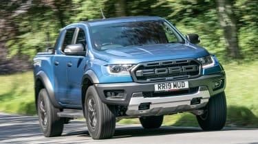 Ford Ranger Raptor - front action