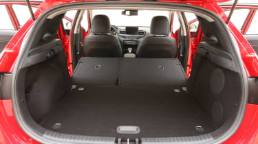 Kia Ceed - boot seats down
