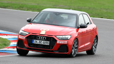 Audi A1 - front cornering