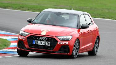 Audi A1 - front cornering