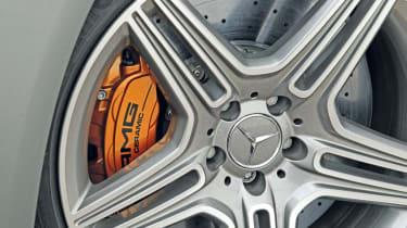 Mercedes SL63 AMG wheel
