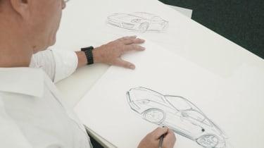 Porsche Classic Project Gold - sketches