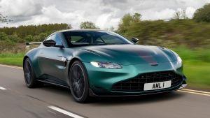 Aston Martin Vantage F1 Edition - front action