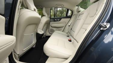 Volvo S60 saloon - rear seats