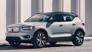 Volvo XC40 Recharge - front 3/4 static street