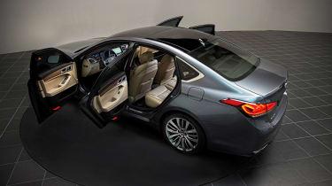 Hyundai Genesis 2014 open