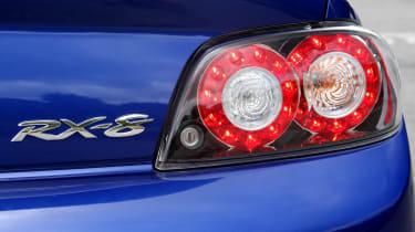 Mazda RX-8 coupe badge