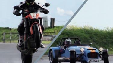 KTM vs Caterham