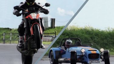 KTM vs Caterham