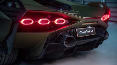 Lamborghini Sian - rear lights