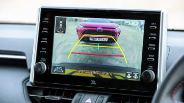 Toyota RAV4 plug-in hybrid - reversing camera