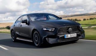 Mercedes CLS prototype - front